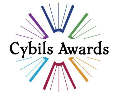 Cybils Awards Logo 2021 - a rainbow circle of books with the text 'Cybils Awards'